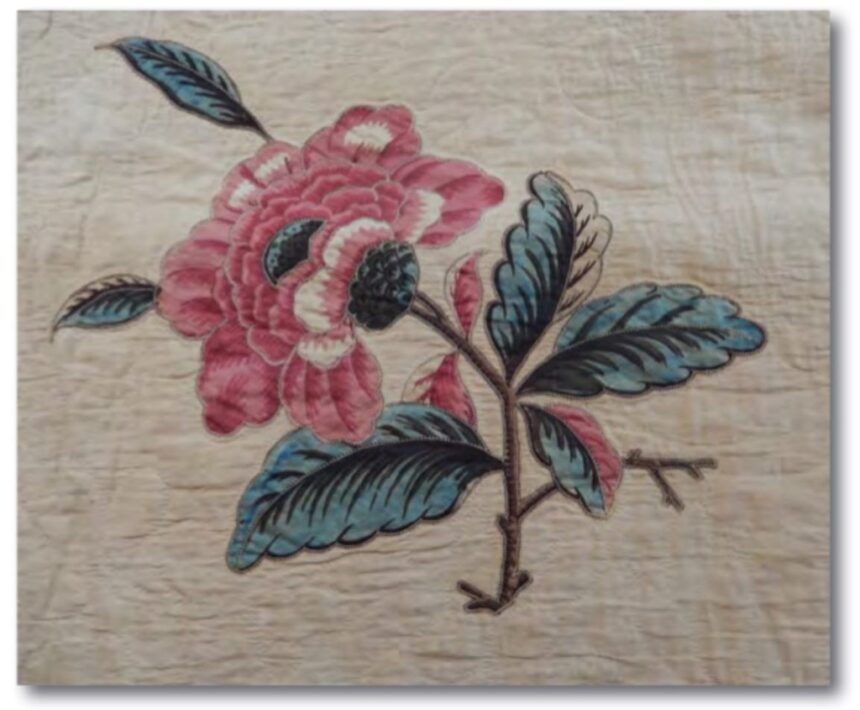 Hinsdale Quilt to be featured in the Bergen Quilt and Coverlet Show