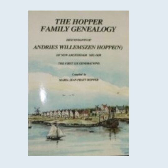 Hopper Family Genealogy