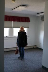 Sue Ramirez in Chapman Estate her