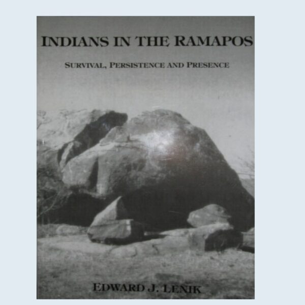 Book - Indians in the Ramapo by Ed Lenik