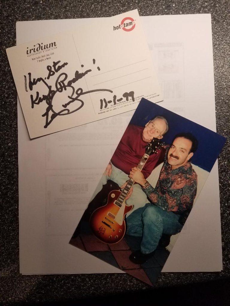 Stan Kohn with Les