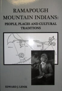 Book Ramapough Mountain Indians by Ed Lenik