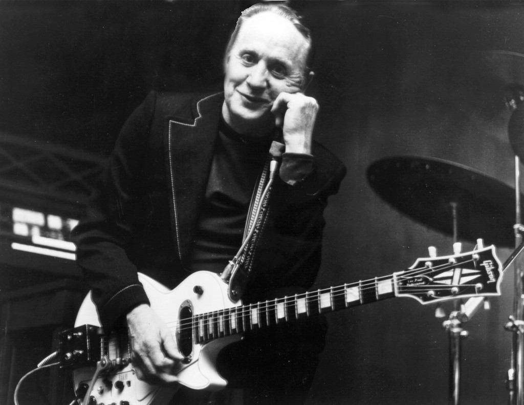 Les Paul with Pulverizer