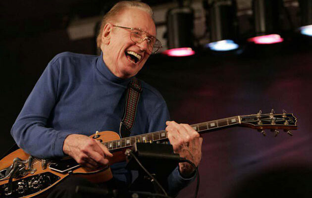 Virtual Concert Celebrates Les Paul's 105th Birthday