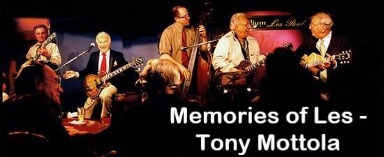 Memories of Les - Tony Mottola