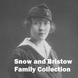 SNOW AND BRISTOW FAMILY COLLECTION - Click on black and white photo of woman in World War I uniform