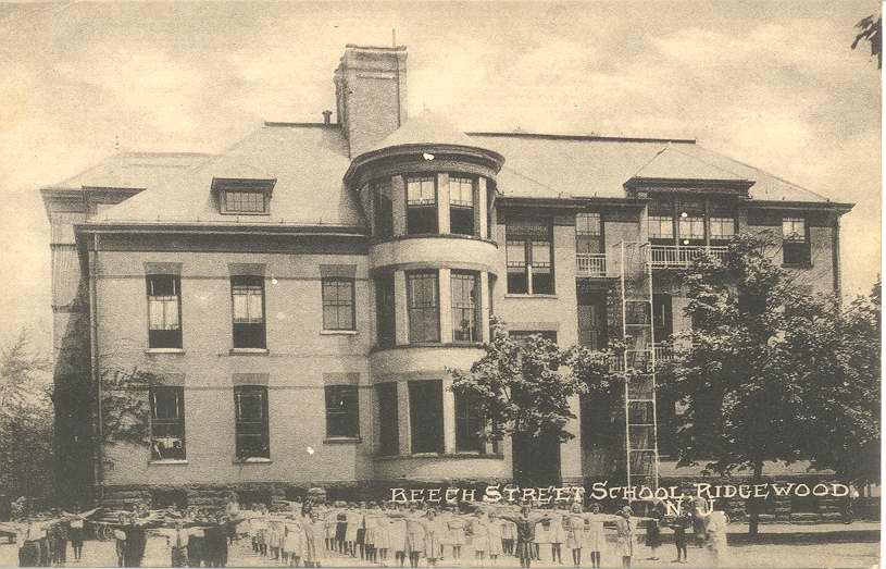 Beech Street School Ridgewood circa 1900