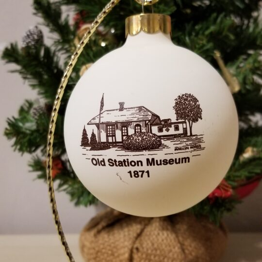 Old Station Museum Ornament
