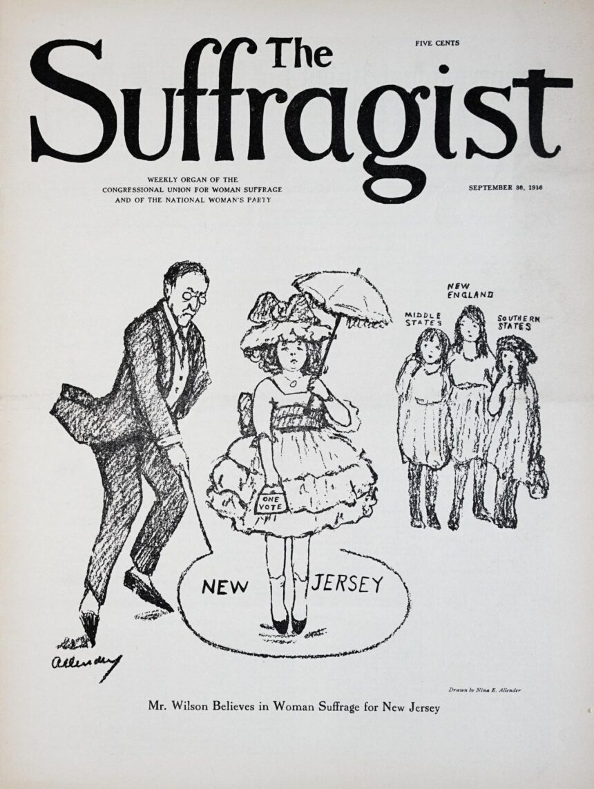 Jan 4 -Agitating for Woman Suffrage in New Jersey – A Webinar