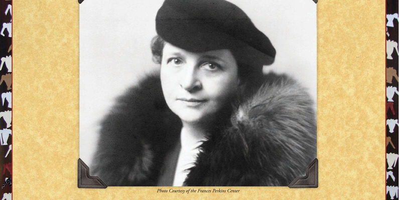 Mar 22 -Steadfast: Frances Perkins, Champion of Workers' Rights – A Webinar with Jennifer Merz