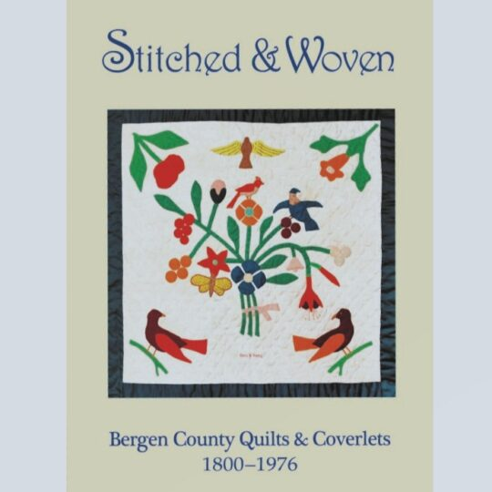Stitched and Woven book cover