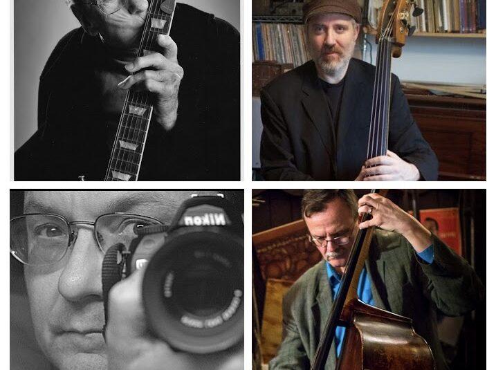 Les Paul, Gary Mazzaroppi, Paul Nowinski, and Chris Lentz